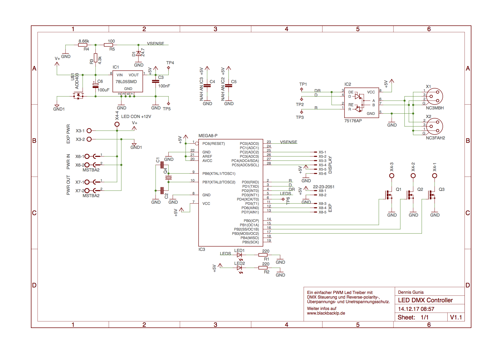 Ungewöhnlich Lor Dmx Schaltplan Galerie - Elektrische Schaltplan ...